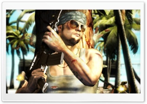 Far Cry Instincts HD Wide Wallpaper for Widescreen