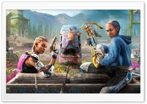 Far Cry New Dawn Ultra HD Wallpaper for 4K UHD Widescreen desktop, tablet & smartphone