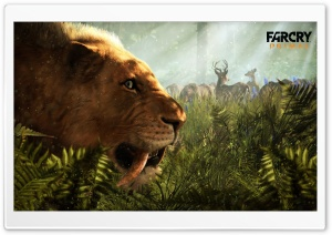 Far Cry Primal Sabertooth HD Wide Wallpaper for Widescreen