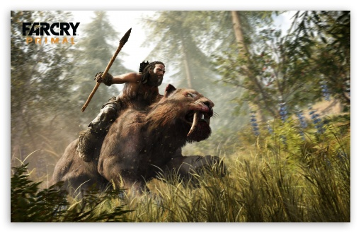 Far Cry Primal Sabertooth Beastmaster 4K HD Desktop