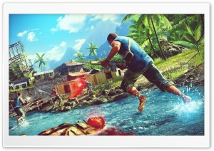 FarCry 3 SDGN Ultra HD Wallpaper for 4K UHD Widescreen desktop, tablet & smartphone