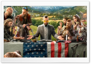 FarCry 5 HD Wide Wallpaper for Widescreen