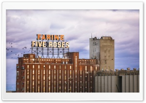 Farine Five Roses, Montreal HD Wide Wallpaper for Widescreen
