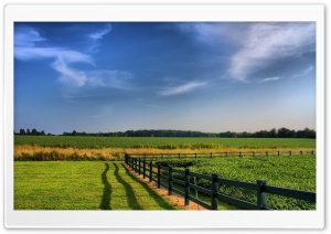 Farm Fence HD Wide Wallpaper for Widescreen