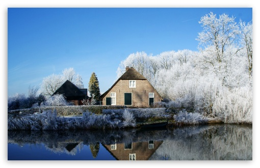 Farmhouse Along The Kromme Rijn River HD wallpaper for Wide 16:10 5:3 Widescreen WHXGA WQXGA WUXGA WXGA WGA ; HD 16:9 High Definition WQHD QWXGA 1080p 900p 720p QHD nHD ; UHD 16:9 WQHD QWXGA 1080p 900p 720p QHD nHD ; Standard 4:3 5:4 3:2 Fullscreen UXGA XGA SVGA QSXGA SXGA DVGA HVGA HQVGA devices ( Apple PowerBook G4 iPhone 4 3G 3GS iPod Touch ) ; Tablet 1:1 ; iPad 1/2/Mini ; Mobile 4:3 5:3 3:2 16:9 5:4 - UXGA XGA SVGA WGA DVGA HVGA HQVGA devices ( Apple PowerBook G4 iPhone 4 3G 3GS iPod Touch ) WQHD QWXGA 1080p 900p 720p QHD nHD QSXGA SXGA ;