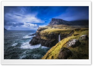 Faroe Islands North Atlantic HD Wide Wallpaper for 4K UHD Widescreen desktop & smartphone