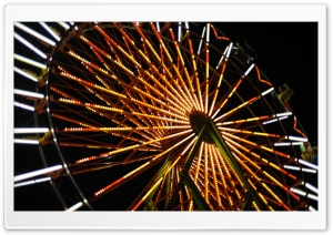 Farris Wheel at a Fair HD Wide Wallpaper for 4K UHD Widescreen desktop & smartphone
