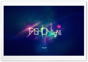 Fashion Lights Blue HD Wide Wallpaper for Widescreen