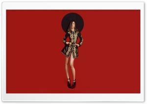 Fashion, Model, Big Hat, Style HD Wide Wallpaper for 4K UHD Widescreen desktop & smartphone