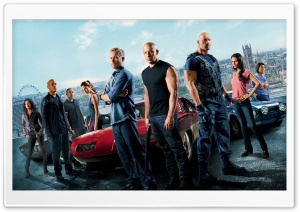 Fast and Furious 6 Movie 2013 HD Wide Wallpaper for Widescreen