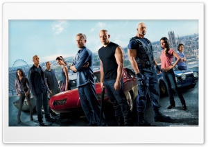 Fast and the Furious 6 HD Wide Wallpaper for Widescreen