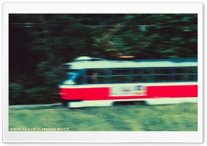 Fast Tram HD Wide Wallpaper for Widescreen