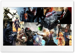 Favorite GAMES You HD Wide Wallpaper for Widescreen