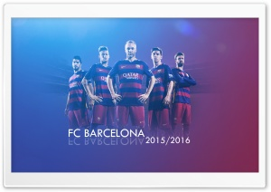 FC Barcelona 2015-2016 HD Wide Wallpaper for 4K UHD Widescreen desktop & smartphone