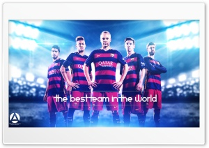 FC Barcelona - The Best In The World HD Wide Wallpaper for Widescreen