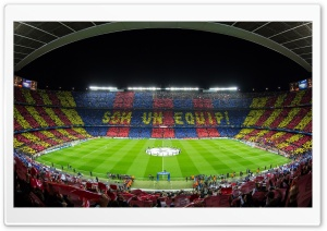 FC Barcelona Camp Nou Stadium HD Wide Wallpaper for 4K UHD Widescreen desktop & smartphone