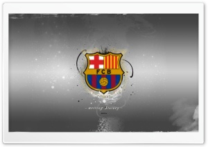 FC Barcelona Emblem HD Wide Wallpaper for Widescreen