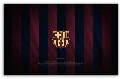 Fc Barcelona Emblem Ultra Hd Desktop Background Wallpaper
