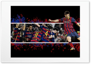 FC Barcelona, Messi Ultra HD Wallpaper for 4K UHD Widescreen desktop, tablet & smartphone