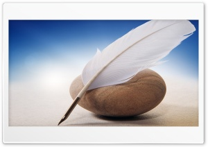 Feather Pen HD Wide Wallpaper for Widescreen