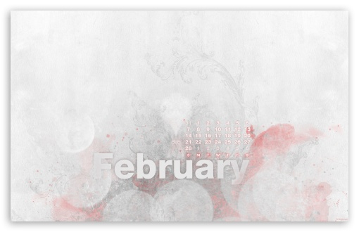 February Calendar HD wallpaper for Wide 16:10 5:3 Widescreen WHXGA WQXGA WUXGA WXGA WGA ; HD 16:9 High Definition WQHD QWXGA 1080p 900p 720p QHD nHD ; Standard 4:3 5:4 3:2 Fullscreen UXGA XGA SVGA QSXGA SXGA DVGA HVGA HQVGA devices ( Apple PowerBook G4 iPhone 4 3G 3GS iPod Touch ) ; Tablet 1:1 ; iPad 1/2/Mini ; Mobile 4:3 5:3 3:2 16:9 5:4 - UXGA XGA SVGA WGA DVGA HVGA HQVGA devices ( Apple PowerBook G4 iPhone 4 3G 3GS iPod Touch ) WQHD QWXGA 1080p 900p 720p QHD nHD QSXGA SXGA ;