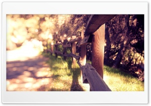 Fence HD Wide Wallpaper for Widescreen