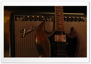 Fender Amplifier HD Wide Wallpaper for 4K UHD Widescreen desktop & smartphone