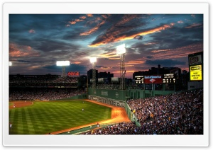 Fenway Park, Boston, Massachusetts - Baseball Park HD Wide Wallpaper for Widescreen
