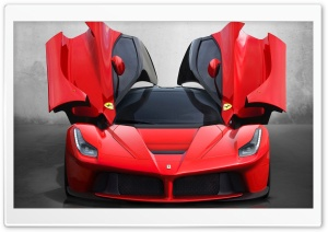 Ferrari HD Wide Wallpaper for Widescreen