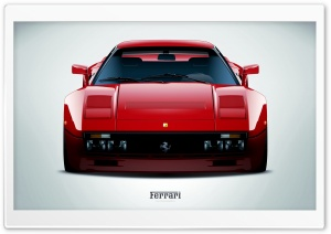 Ferrari 288 GTO Red HD Wide Wallpaper for Widescreen