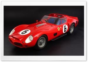 Ferrari 330 Tri-LM Testa Rossa 1962 HD Wide Wallpaper for 4K UHD Widescreen desktop & smartphone