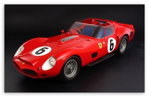 Download Ferrari 330 Tri-LM Testa Rossa 1962 HD Wallpaper