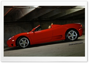Ferrari 360 Spider HD Wide Wallpaper for Widescreen