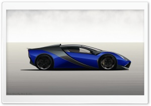 Ferrari 3D HD Wide Wallpaper for Widescreen