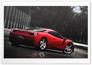 Ferrari 458 Italia HD Wide Wallpaper for 4K UHD Widescreen desktop & smartphone