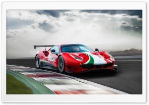Ferrari 488 GT3 EVO Race Car 2020 Ultra HD Wallpaper for 4K UHD Widescreen desktop, tablet & smartphone