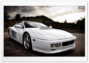 Ferrari 512 TR HD Wide Wallpaper for Widescreen