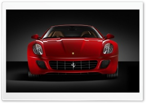 Ferrari 599 Front HD Wide Wallpaper for Widescreen