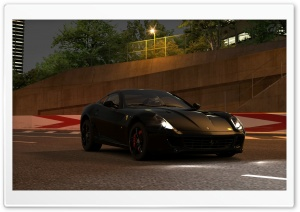 Ferrari 599 GT5 HD Wide Wallpaper for Widescreen