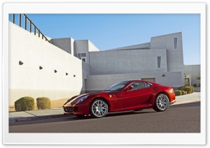 Ferrari 599 GTB HD Wide Wallpaper for Widescreen