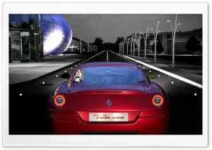Ferrari 599 GTO HD Wide Wallpaper for Widescreen