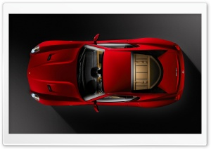 Ferrari 599 Top View HD Wide Wallpaper for Widescreen