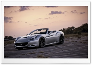 Ferrari California Front HD Wide Wallpaper for Widescreen