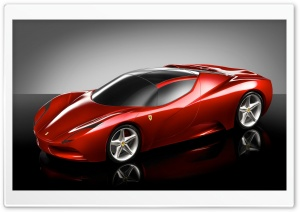 Ferrari Concept HD Wide Wallpaper for Widescreen
