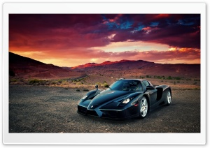 Ferrari Enzo HD Wide Wallpaper for Widescreen