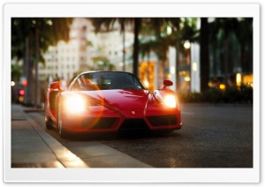 Ferrari Enzo Red HD Wide Wallpaper for Widescreen