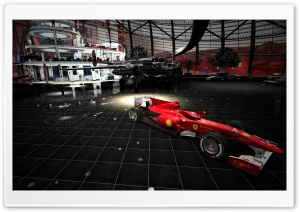 Ferrari F10 HD Wide Wallpaper for Widescreen