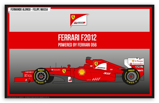 Ferrari F2012 HD wallpaper for Wide 16:10 Widescreen WHXGA WQXGA WUXGA WXGA ; HD 16:9 High Definition WQHD QWXGA 1080p 900p 720p QHD nHD ;