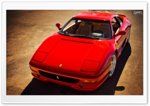 Ferrari F355 Berlinetta HD Wide Wallpaper for Widescreen