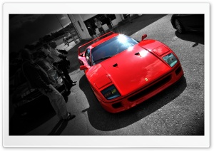 Ferrari F40 HD Wide Wallpaper for Widescreen